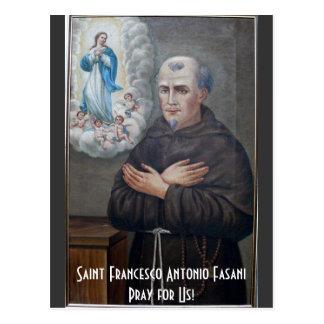 11月27日St.フランチェスコAntonio Fasani ポストカード