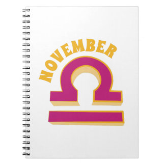 11月 ノートブック
