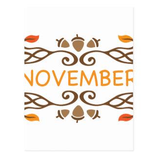 11月 ポストカード