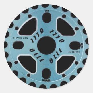 1110年|ヘルメット|ステッカー 丸形シール・ステッカー