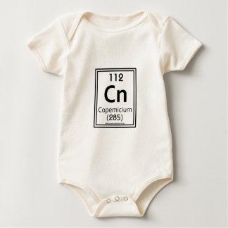 112 Copemicium ベビーボディスーツ