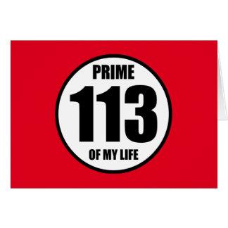 113 -私の生命の全盛 カード