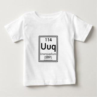 114 Ununquadium ベビーTシャツ