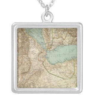 11617エリトリア、エチオピア、ソマリア シルバープレートネックレス