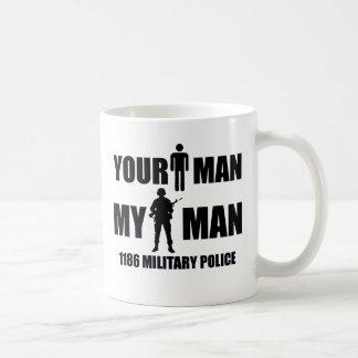 1186人の憲兵私の人 コーヒーマグカップ