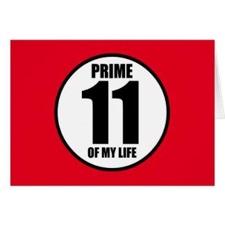11 -私の生命の全盛 カード