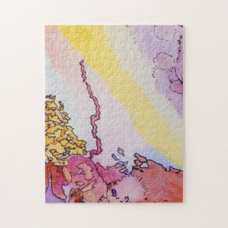 11x14 abstract jigsaw puzzle with design ジグソーパズル