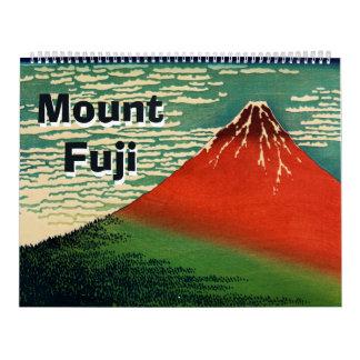 12か月富士山 カレンダー