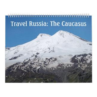 12か月旅行ロシア: コーカサスのカレンダー カレンダー
