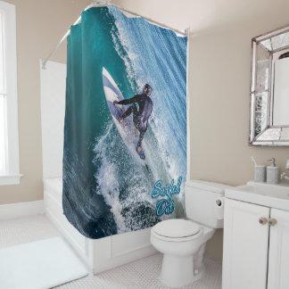 12のサーフ シャワーカーテン