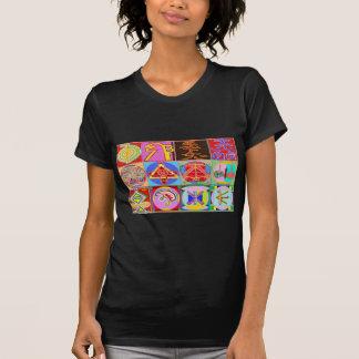 12の霊気n Karunaの霊気の治療のデザイン Tシャツ