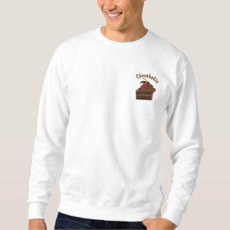12ステップChocoholic 刺繍入りスウェットシャツ
