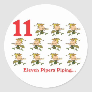12人の幾日11のパイパーの配管 ラウンドシール