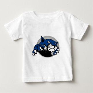 12以下のグレートプレーンズポップ・アートのなワーナーオマハのボブキャット ベビーTシャツ