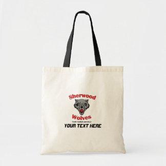 12以下のCayflのオオカミ トートバッグ