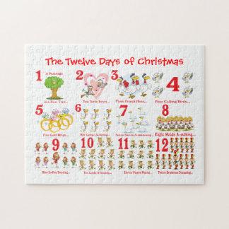 12日のクリスマス ジグソーパズル