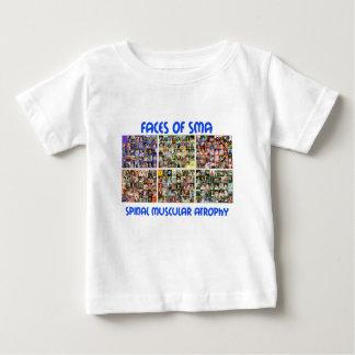 12月の前部-青を通した7月 ベビーTシャツ