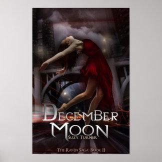 12月の月ポスター ポスター