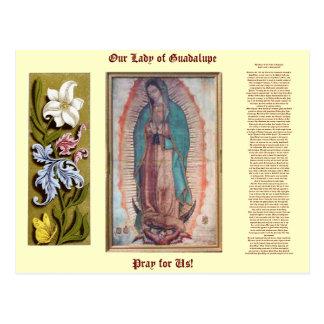 12月12日   グアダルペの私達の女性 ポストカード