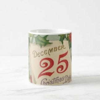 12月25日のクリスマス コーヒーマグカップ