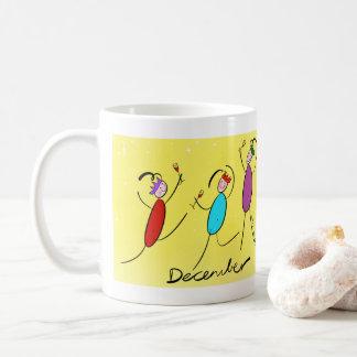 12月 コーヒーマグカップ