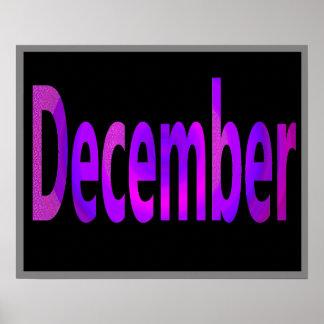 12月 ポスター