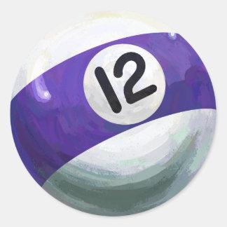 12球 ラウンドシール