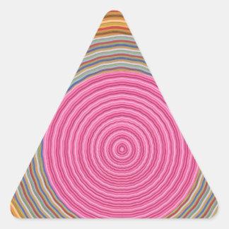 12純粋なエネルギー感情のオーラのクリーニングスペクトル 三角形シール