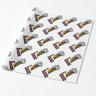 12羽のワシアステカな日の印 ラッピングペーパー