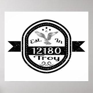 12180イリオスに確立される ポスター