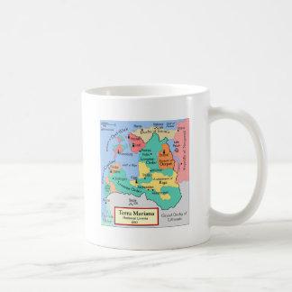 1260年頃地図 コーヒーマグカップ