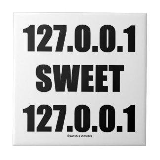 127.0.0.1甘い127.0.0.1 (家の甘い家のギーク) タイル