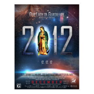 12.12.12グアダルペの私達の女性を祝うこと ポストカード