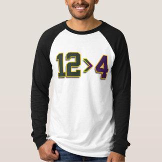 12 > 4つの長袖のワイシャツ Tシャツ