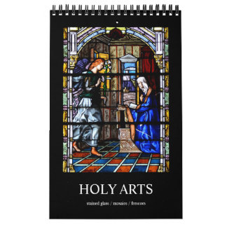 12 month Holy Arts Photo Calendar カレンダー