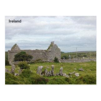 13世紀な教会、Burren、ドクレア、アイルランド ポストカード