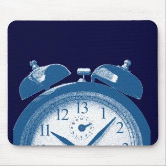 13時間青い マウスパッド