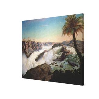 131-0059242パウロアルフォンソの滝1850年 キャンバスプリント