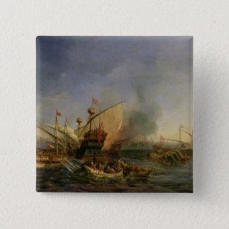 1323年1841年にEpiskopiの海戦 5.1cm 正方形バッジ