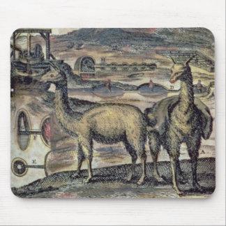 137-0627924 SHペルーの歴史からのイラストレーション マウスパッド
