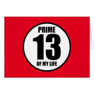 13 -私の生命の全盛 カード