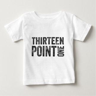 13.1半分のマラソンの刺激 ベビーTシャツ