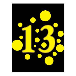 13-Thirteen ポストカード