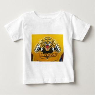 14以下のワーナーのポップ・アートのなトラ ベビーTシャツ