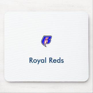 14以下のCyoの王室のな赤 マウスパッド