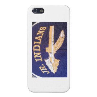 14以下のSJHFC RRL Jr.のインディアン iPhone SE/5/5sケース