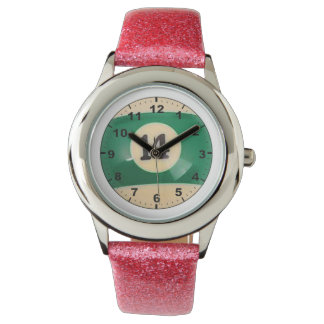 """""""14球""""のデザインの腕時計 腕時計"""