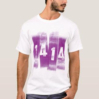 1414年のロゴのワイシャツ Tシャツ