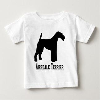 1415112006 Airedaleテリア(Animales) ベビーTシャツ