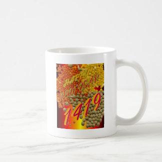 1419ベンガルの新年 コーヒーマグカップ